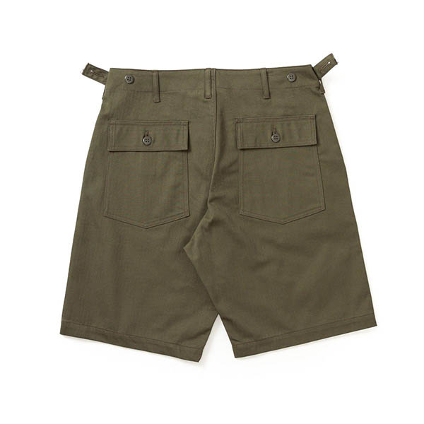 mens cotton twill cargo shorts