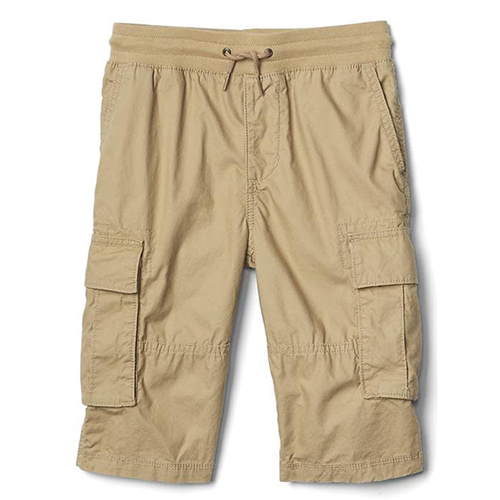 men custom pull on cargo shorts