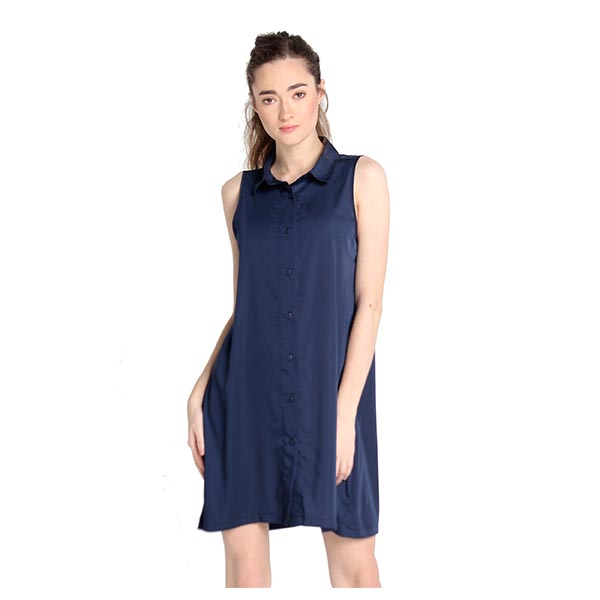 girls casual button down shirt dress