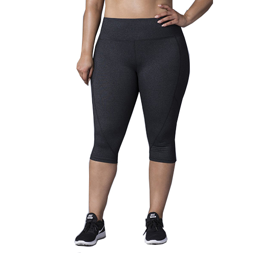 Women plus size capri legging