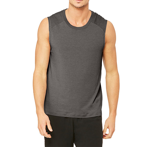 men dry-fit fitness tank top