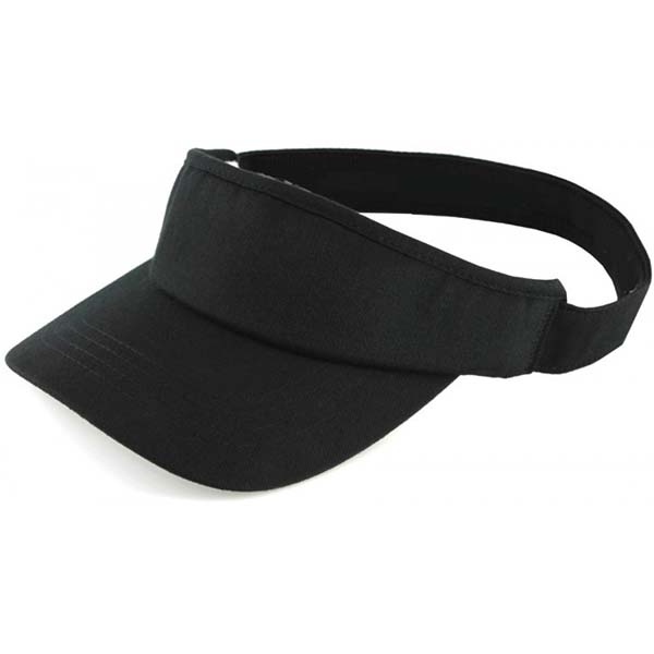 black sun/outdoor/sports visor cap