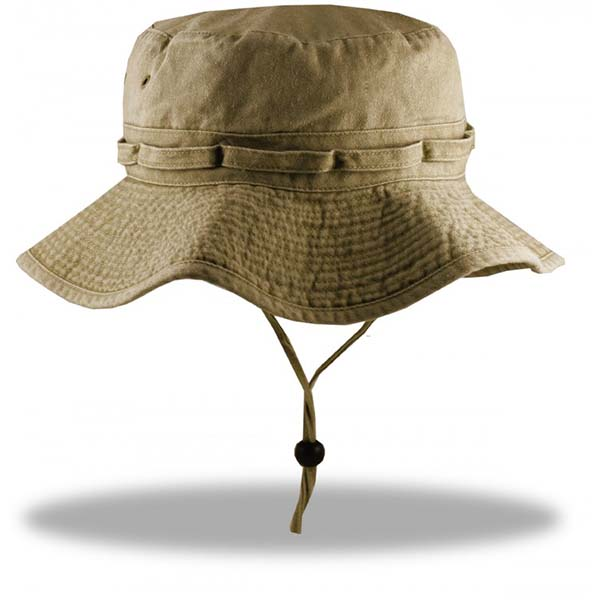 Extra Big Size Fishing Hats-Khaki