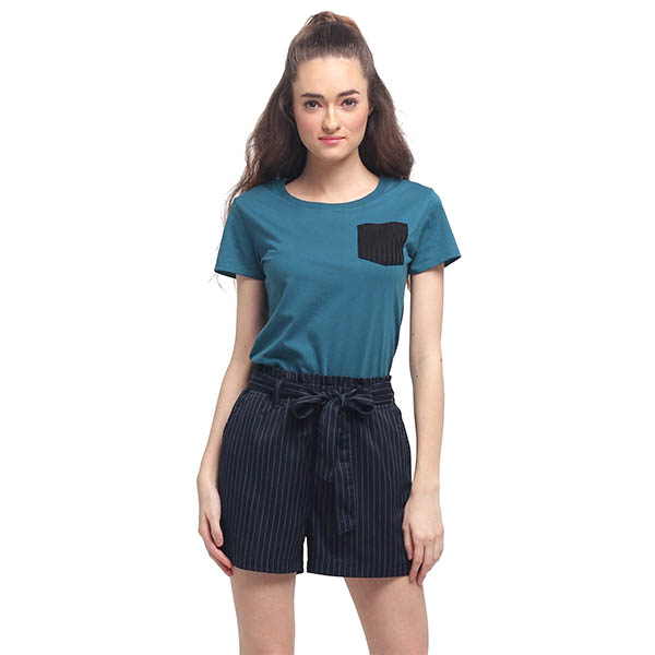 girls short sleeve O-neck short sleeve t-shirt